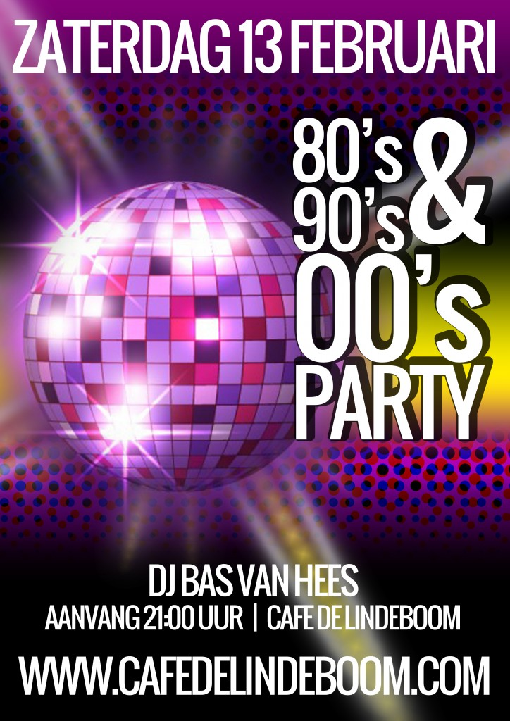 80'S 90'S 00'S Party